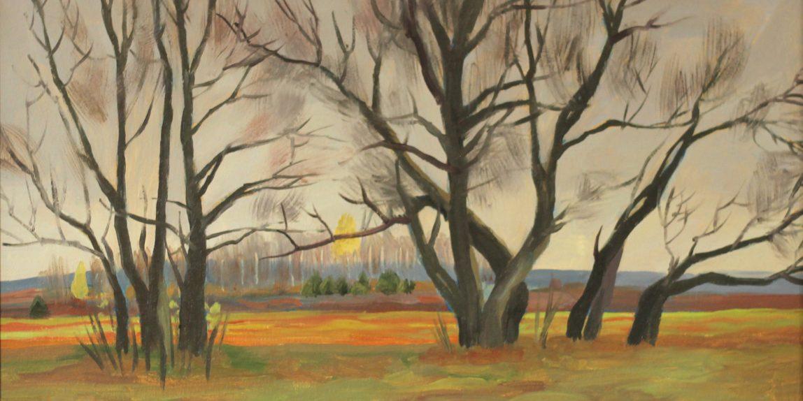 Осенний пейзаж поздняя осень